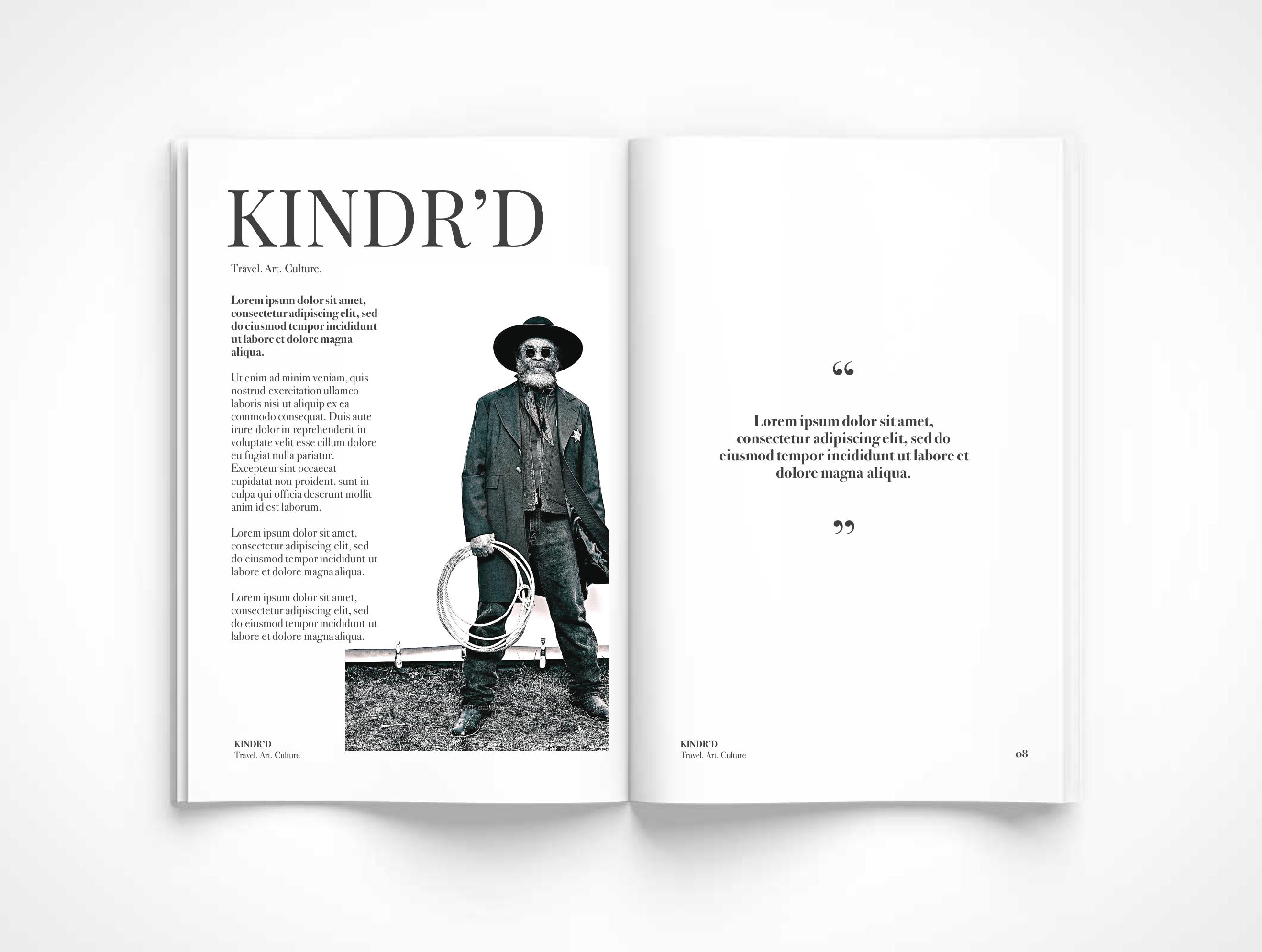 KINDR'D Magazine, KINDR'D, KOLUMN Magazine, KOLUMN, African American Art, African American Travel, African American Culture