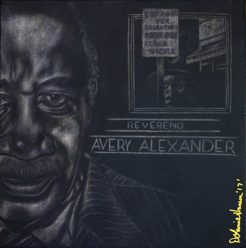 D. Lammie Hanson, Rev. Avery Alexander, African American Activist, Civil Rights Activist, Racism, African American History, Black History, KOLUMN Magazine, KOLUMN