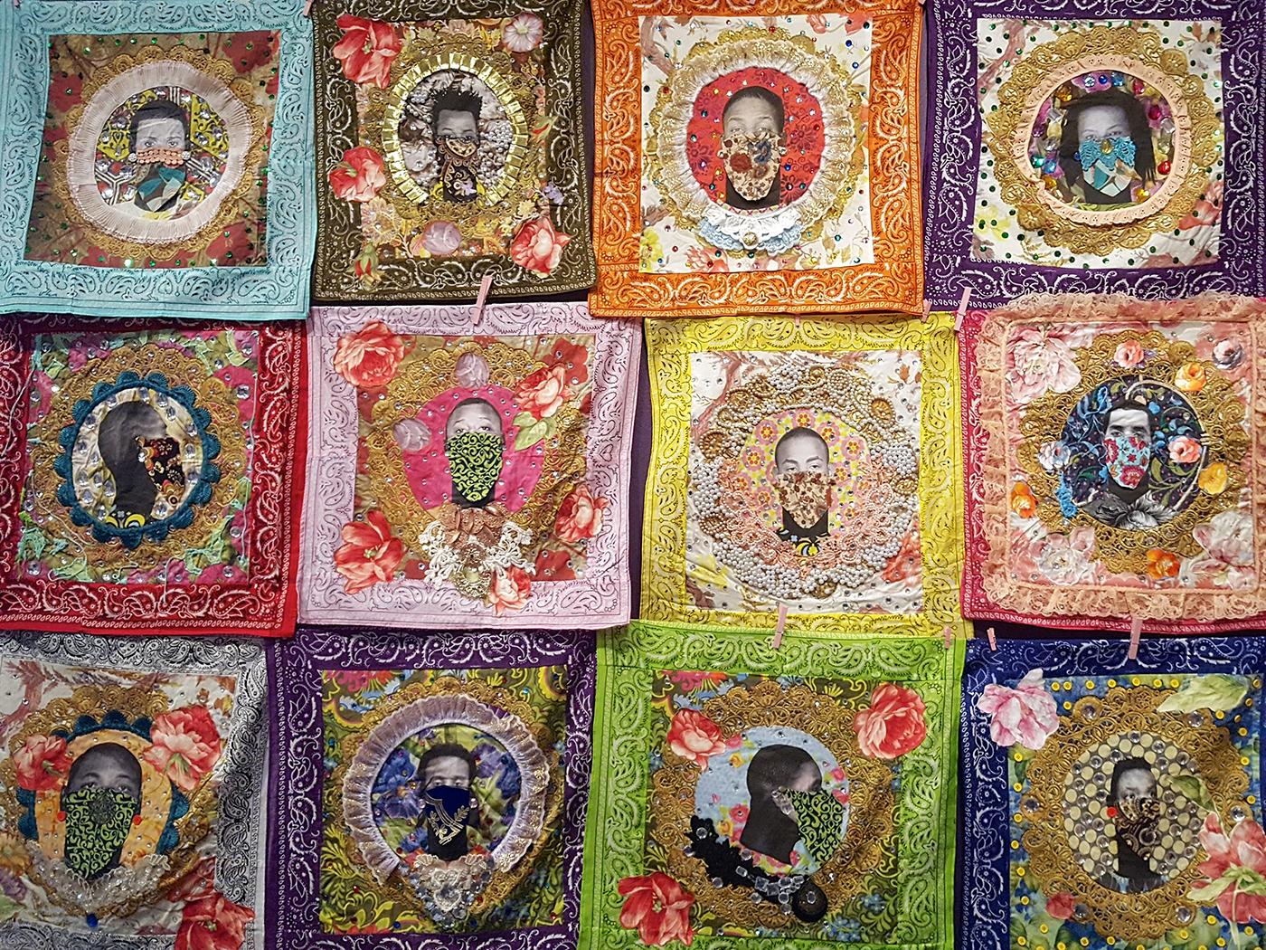 Ebony Patterson, Jamaica Massacre, African American Art, Black Art, KINDR'D Magazine, KINDR'D, KOLUMN Magazine, KOLUMN