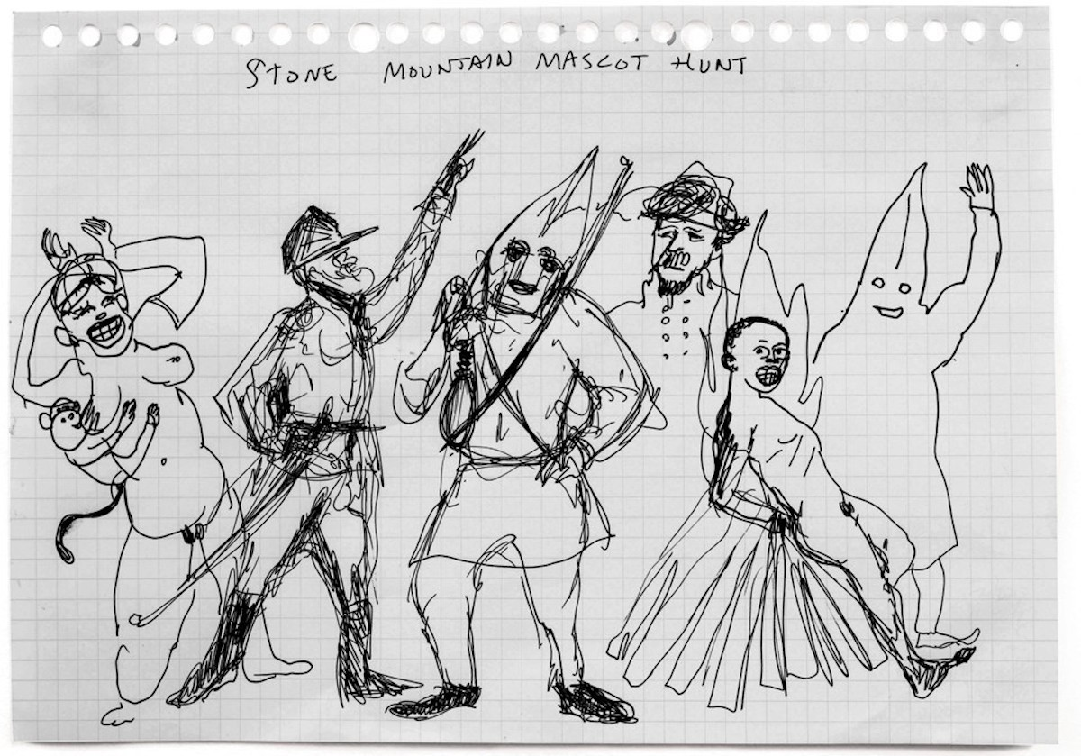 Dylan Roof Monument, Stone Mountain Mascot Hunt, MLK Monument, African American Art, Black Art, Kara Walker, Racism, KOLUMN Magazine, KOLUMN