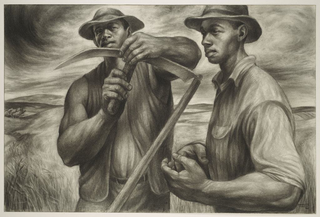 African American Artist, Black Artists, African American Art, Black Art, Charles White, Art Institute of Chicago, Harvest Talk, The Trenton Six, KINDR'D Magazine, KINDR'D, KOLUMN Magazine, KOLUMN