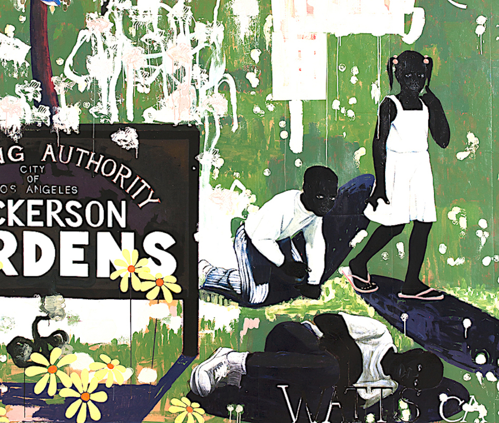 Kerry James Marshall, Whitfield Lovell, Ellen Gallagher, Amy Sherald, Kehinde Wiley, Jacques Goldstein, Black Is the Color, African American Art, Black Art, KINDR'D Magazine, KINDR'D, KOLUMN Magazine, KOLUMN