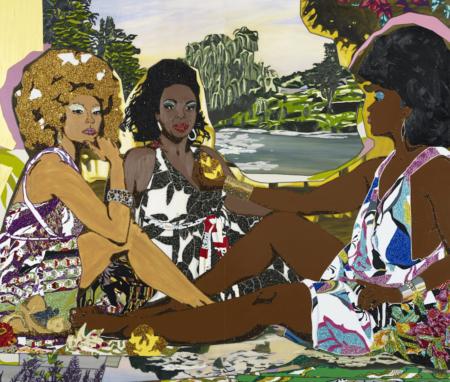 African American Art, Black Art, Mickalene Thomas, KINDR'D Magazine, KINDR'D, KOLUMN Magazine, KOLUMN