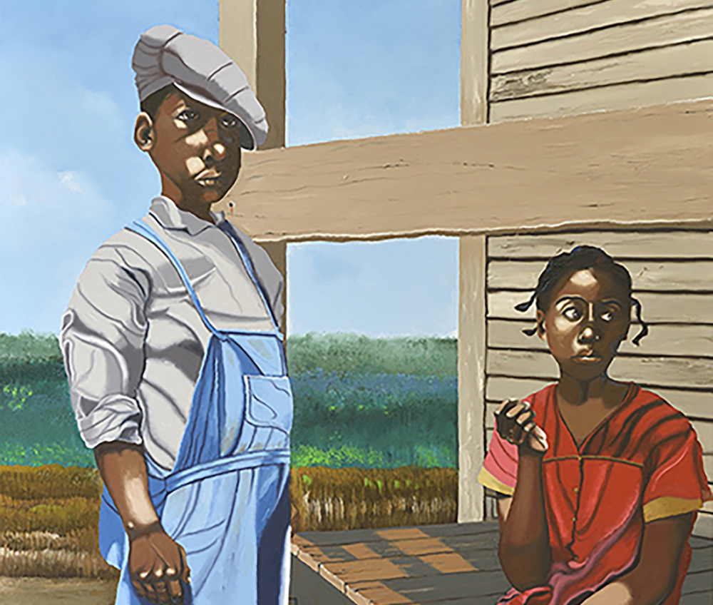 African American Art, Black Art, African American Artist, Black Artist, Harry L Davis, Return of the Moran, Sharecroppers Children, African American News, KINDR'D Magazine, KINDR'D, KOLUMN Magazine, KOLUMN