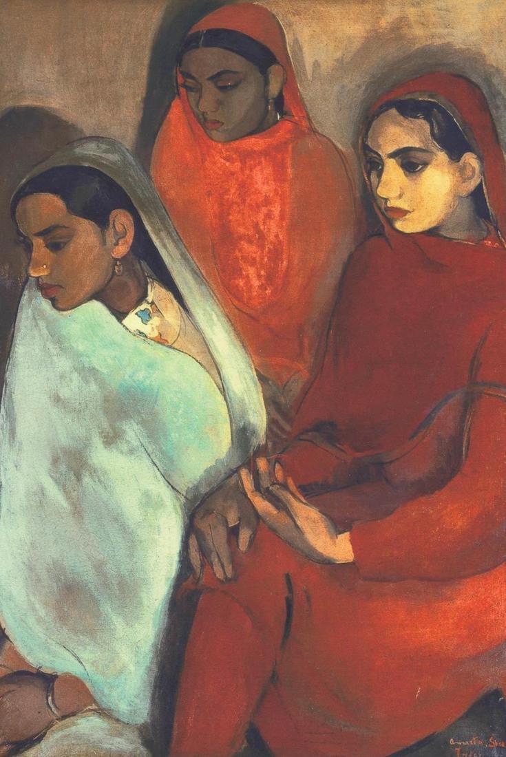 Amrita Sher-Gil, Indian Art, KOLUMN Magazine, KOLUMN, KINDR'D Magazine, KINDR'D