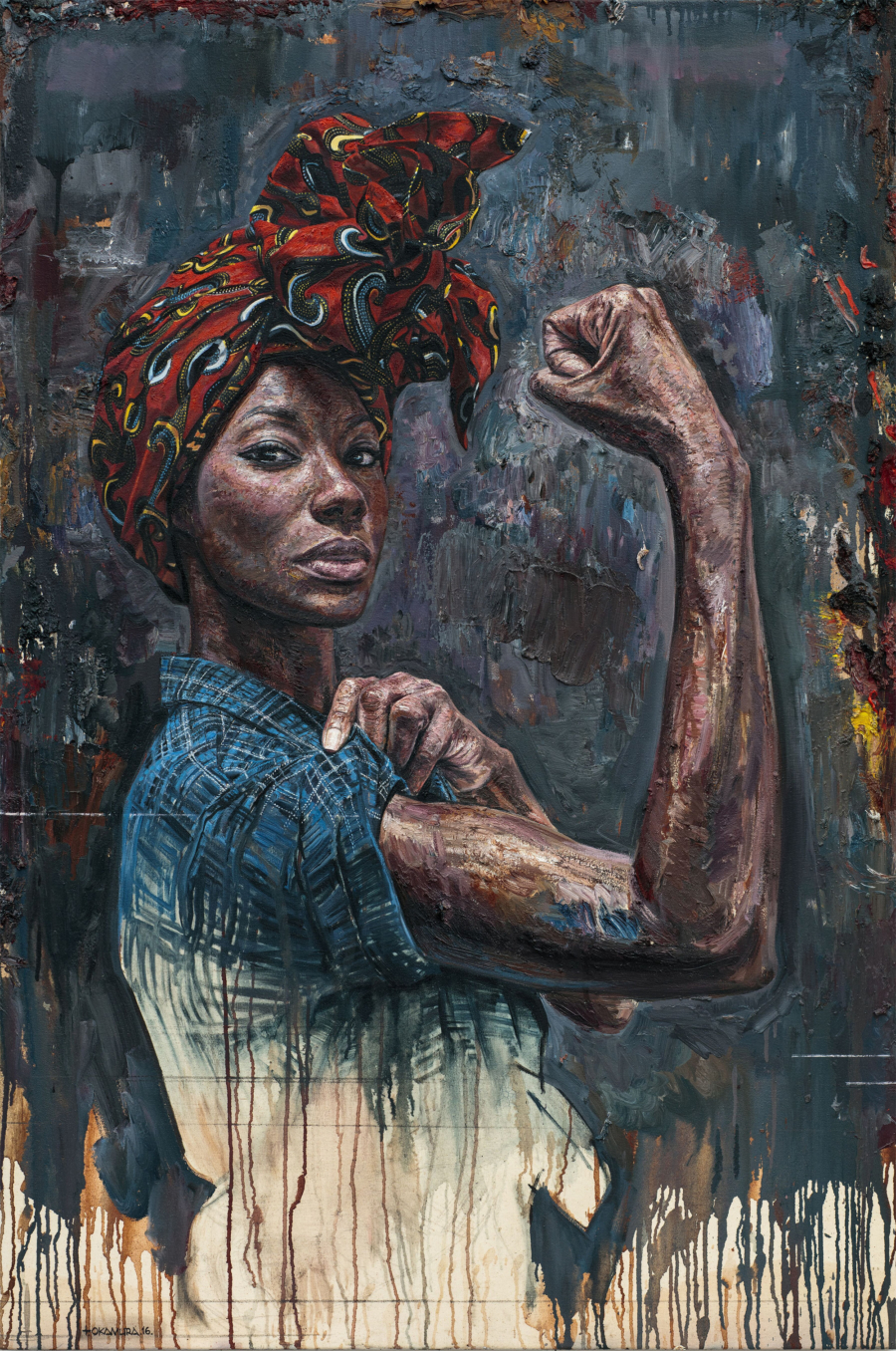 Tim Okamura, African American Art, Black Art, KOLUMN Magazine, KOLUMN, KINDR'D Magazine, KINDR'D, Willoughby Avenue, Wriit,