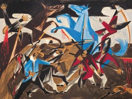 Jacob Lawrence, African American Art, Black Art, Pamela Joyner, KOLUMN Magazine, KOLUMN, KINDR'D, KINDR'D Eyes, Willoughby Avenue, Wriit,