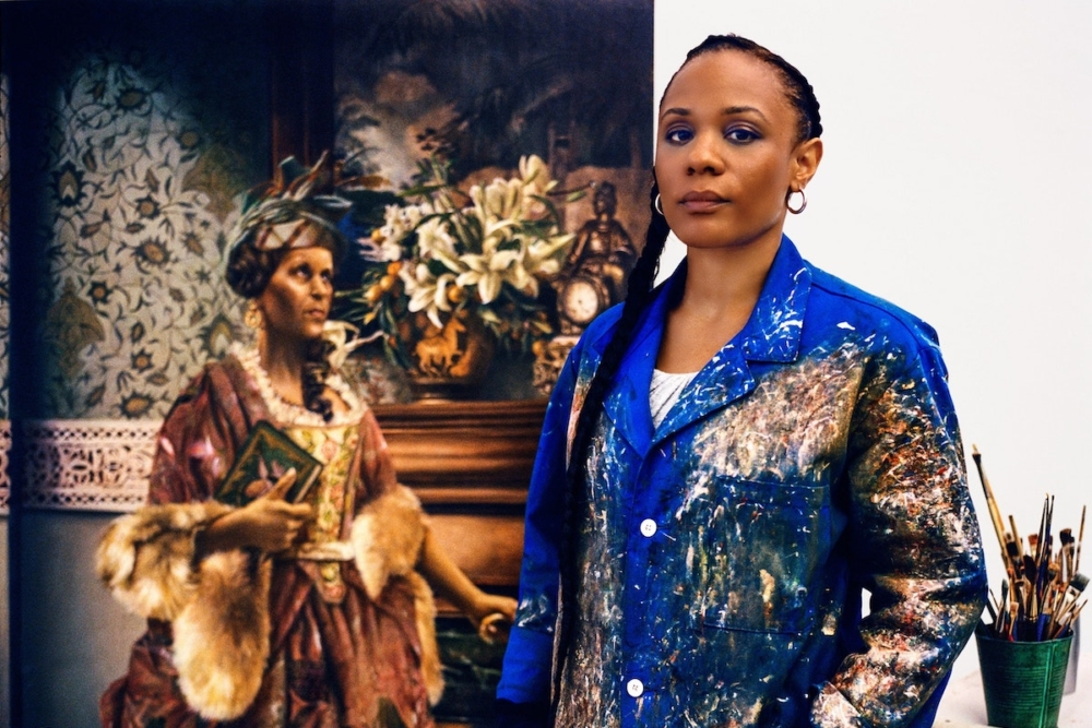 Elizabeth Colomba, African American Art, Black Art, Pamela Joyner, KOLUMN Magazine, KOLUMN, KINDR'D, KINDR'D Eyes, Willoughby Avenue, Wriit,